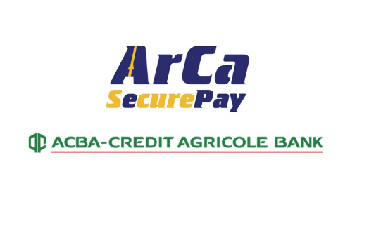ACBA-CREDIT AGRICOLE BANK is the first bank in Armenia to have introduced Arca SecurePay system