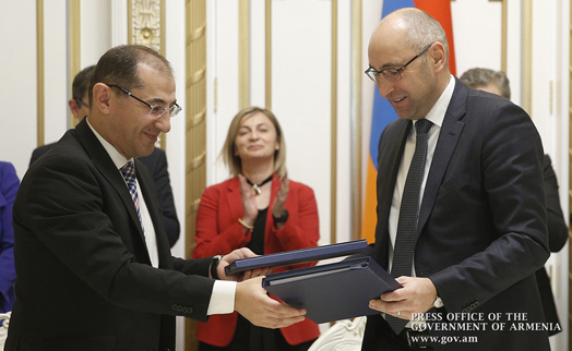 Armenian government and Germany's KfW sign € 23.8-million agreements