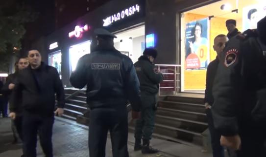 Полиция представила детали ограбления офиса организации Varks.am в Ереване