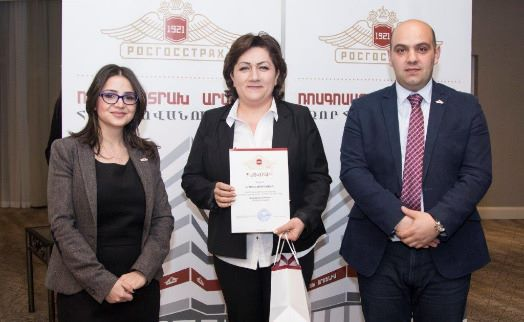 VTB Bank (Armenia) named best partner to ROSGOSSTRAKH ARMENIA