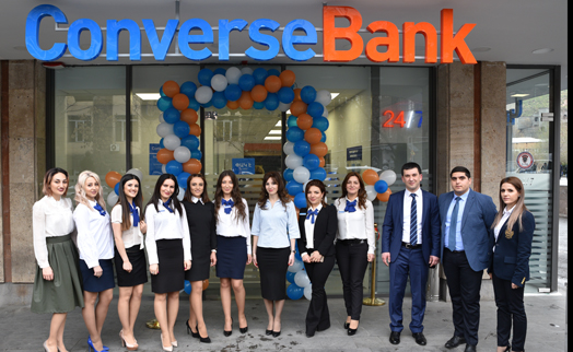 Converse Bank opens new branch in downtown Yerevan