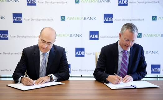 ADB loan, equity to Ameriabank to help promote financial inclusion in Armenia