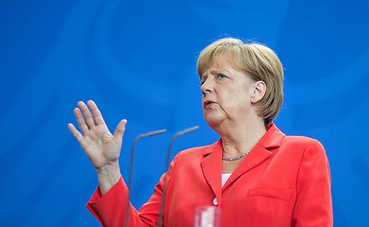 Канцлер Германии призвала поддержать экономику ЕС на фоне пандемии