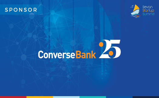 Converse bank supports Sevan Startup summit 2018