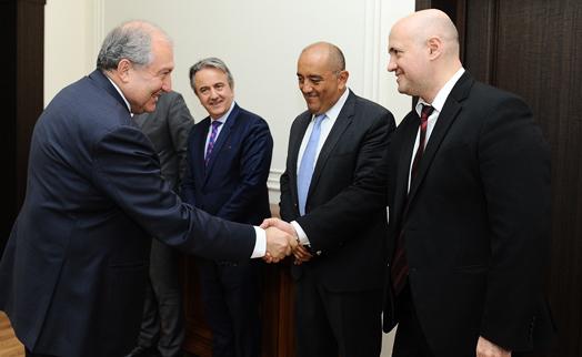 Президент Армении и делегация ЕБРР обсудили перспективы сотрудничества