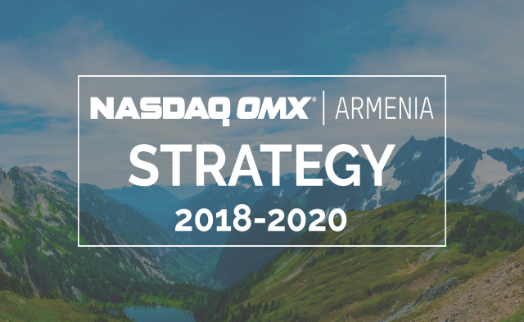 NASDAQ OMX Armenia and Central Depository launch new strategy for 2018-2020 – new trading system, crowdfunding platform and mobile application