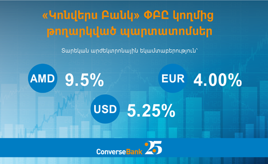 Converse Bank completes placement of bonds in 23 currencies