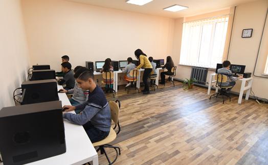 Ինֆորմատիկային ժամանակակից դասարաններ՝ Գյումրիում և Մայիսյան համայնքում