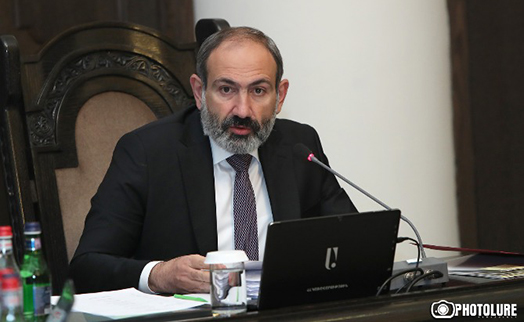 Armenian premier presents first package of measures to be taken to curb spread of COVID-19