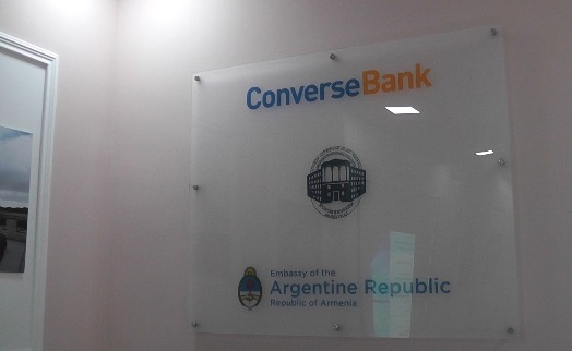 Argentine Center opens in Yerevan with support of Converse Bank