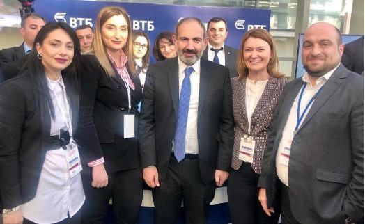 VTB Bank (Armenia) acted as general sponsor of my step for Lori marz investment forum