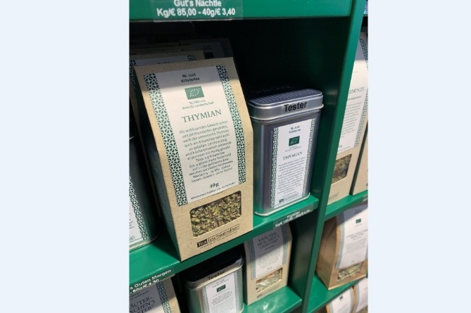 Armenian tea on sale in Germany with help of ACBA-CREDIT AGRICOLE BANK and German NABU