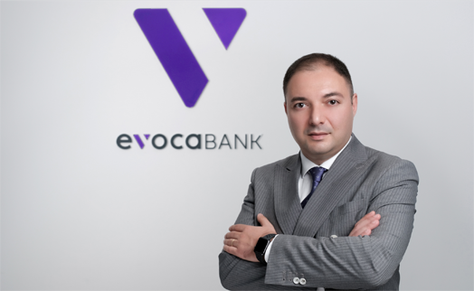 Karen Yeghiazaryan appointed  as new chairman of Evocabank. Board