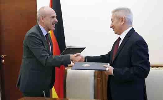Армения и Германия расширяют финансовое сотрудничество
