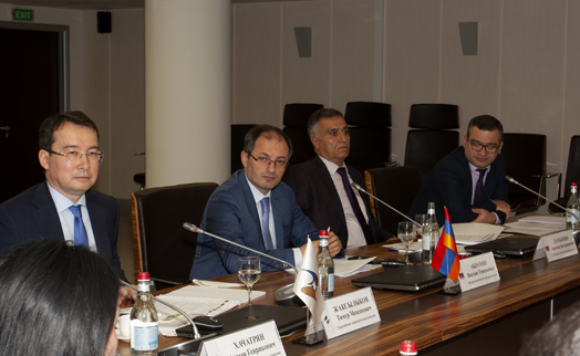 Issues related to formation of common financial market in EEU territory discussed in Armenia's central bank
