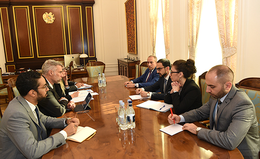 Armenian deputy PM and World Bank regional director discussed future cooperation