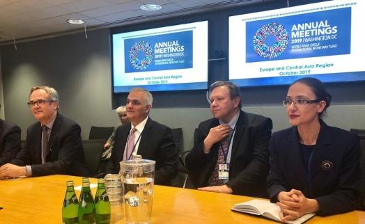 Մհեր Գրիգորյանը և Համաշխարհային բանկի բարձրաստիճան ներկայացուցիչները քննարկել են համատեղ իրականացվող ծրագրերի ընթացքը