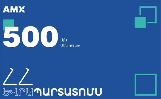 Armenia's USD500 million Eurobond is now traded on  Securities Exchange