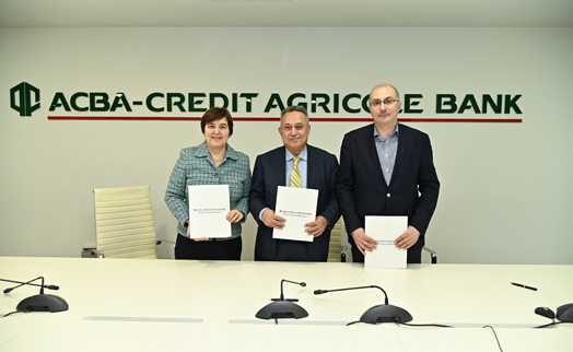 ACBA-CREDIT AGRICOLE BANK, Hayastan Fund and UNICEF  to build  inclusive playground  in Vardenis