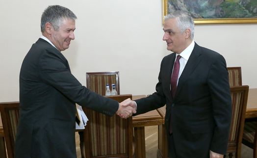 ADB country director presents five-year partnership strategy to Armenian vice premier