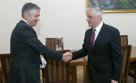 ԱԶԲ հայաստանյան գրասենյակի տնօրենը փոխվարչապետին է ներկայացրել է Հայաստանի հետ գործընկերության 5-ամյա ռազմավարությունը
