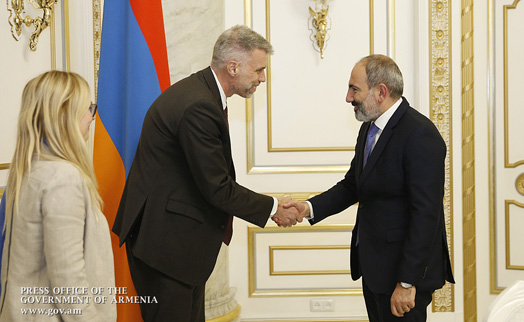 Armenian PM, WB regional director discuss cooperation agenda