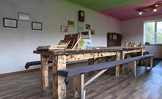 Зал дегустации меда открыт в селе Мартуни при содействии Федерации АКБА и NABU