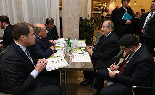 Саркисян подтвердил предложение Армении принять в стране годовое собрание ЕБРР в 2021 году