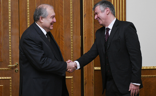 Armenian president and ADB bank head discuss implementation of joint projects