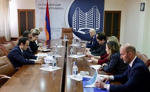 Էկոնոմիկայի նախարարը կարևորել է ԵՄ–ի ՎԶԵԲ–ի աջակցությամբ Հայաստանում մասնավոր բաժնեմասնակցային ներդրումային ֆոնդի բացումը